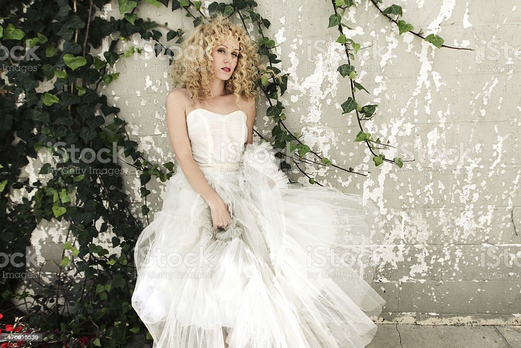 Couture Wedding Portraits royalty-free stock photo
