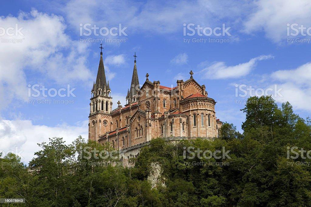 covadonga royalty-free stock photo
