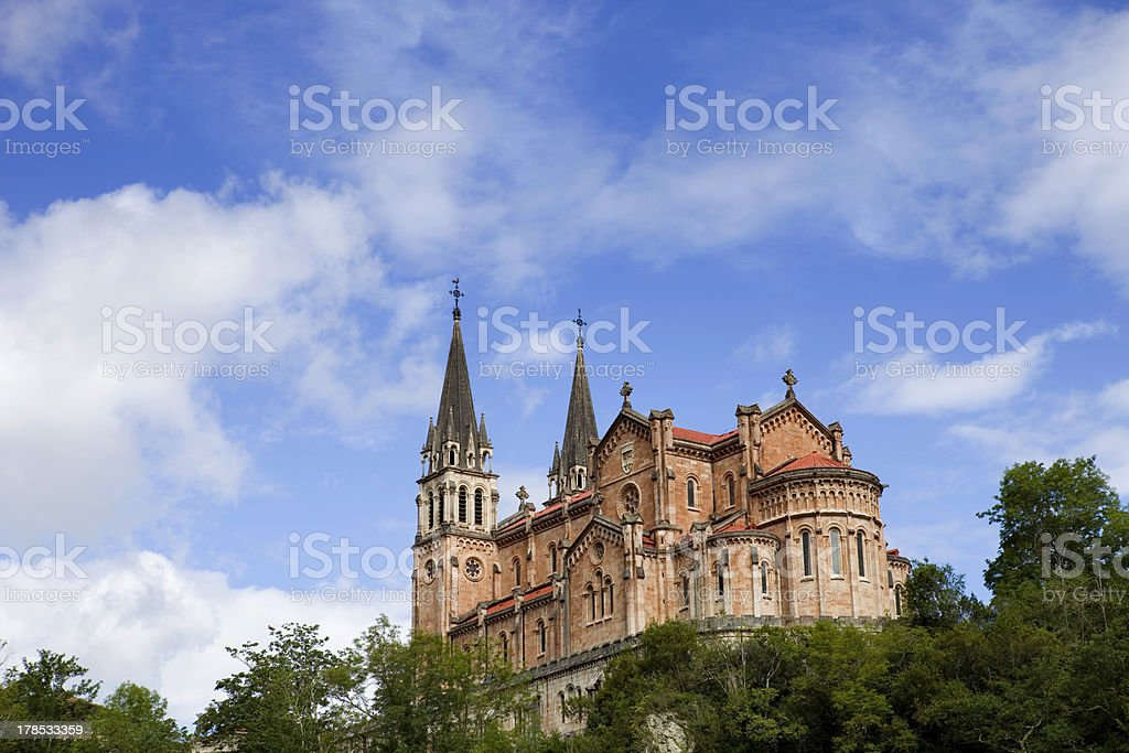 Covadonga royalty-free stock photo