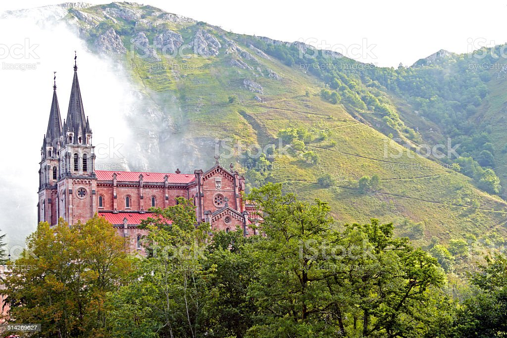 covadonga stock photo
