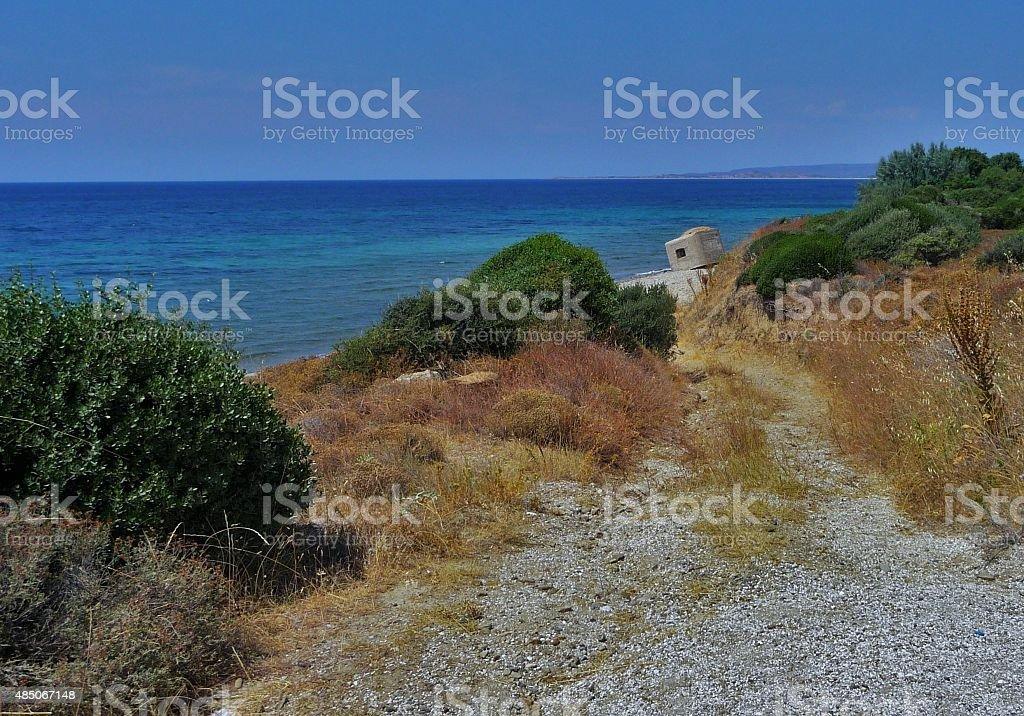 ANZAC cove 14 stock photo