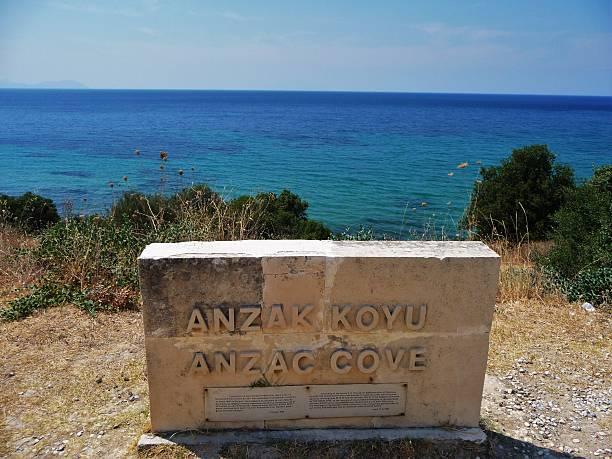 ANZAC cove 18 stock photo