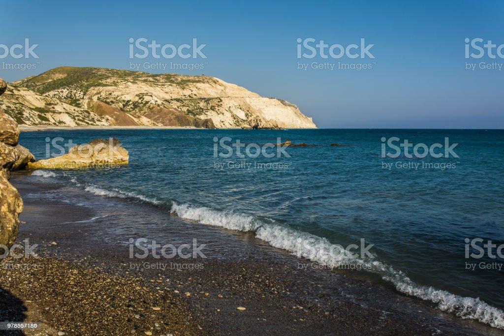 Cove of Aphrodite stock photo
