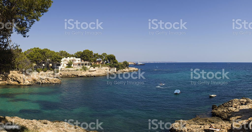 Cove. royalty-free stock photo
