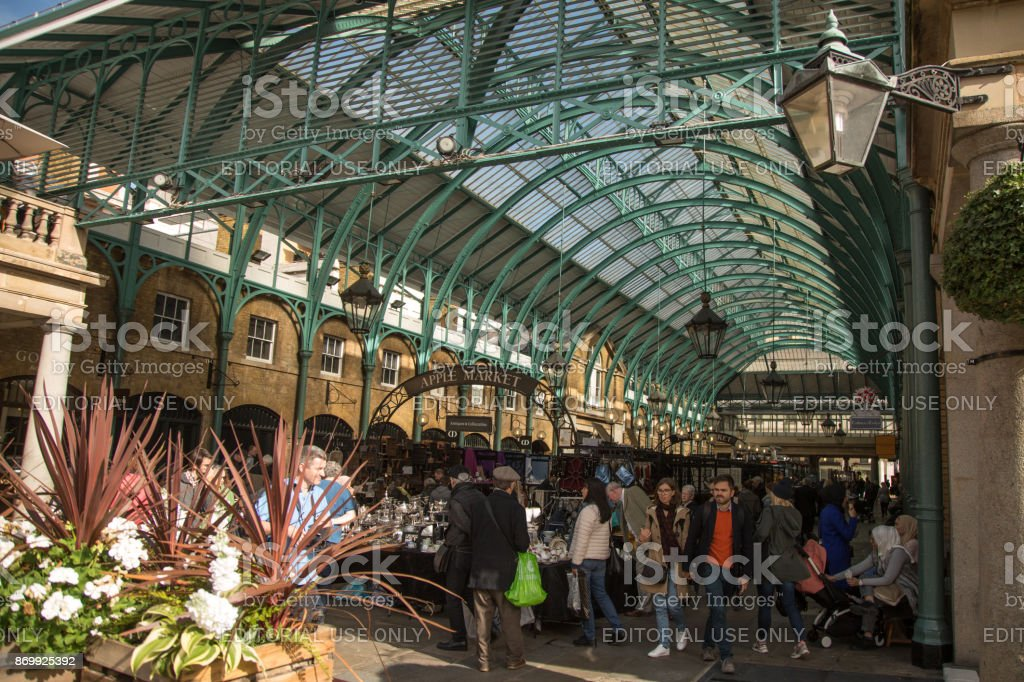 Covent Garden Market in London - England stock photo
