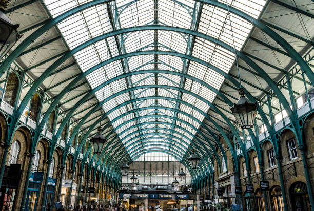 Covent Garden Roof stock photo