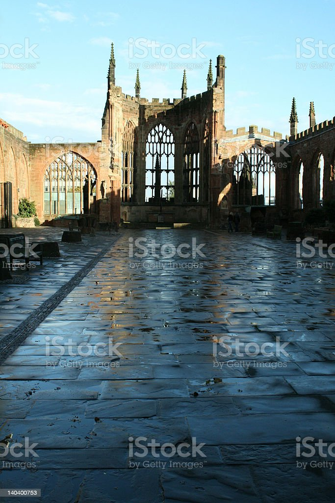 Coventry Cathedral royalty-free stock photo
