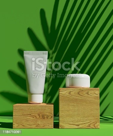 istock Cover design A4 template set with Green background ,eco abstract modern different color style for decoration presentation, brochure, catalog, book, magazine etc. 3d illustration 1184710261