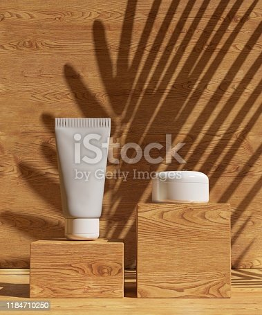 istock Cover design A4 template set with wooden background ,eco abstract modern different color style for decoration presentation, brochure, catalog, book, magazine etc. 3d illustration 1184710250