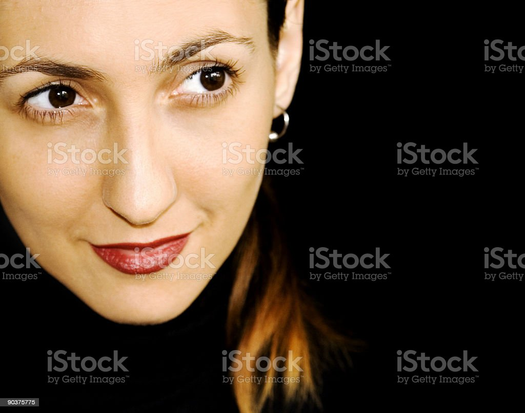 Cover girl royalty-free stock photo