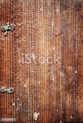 istock Cover of an old brown paper book 479281671