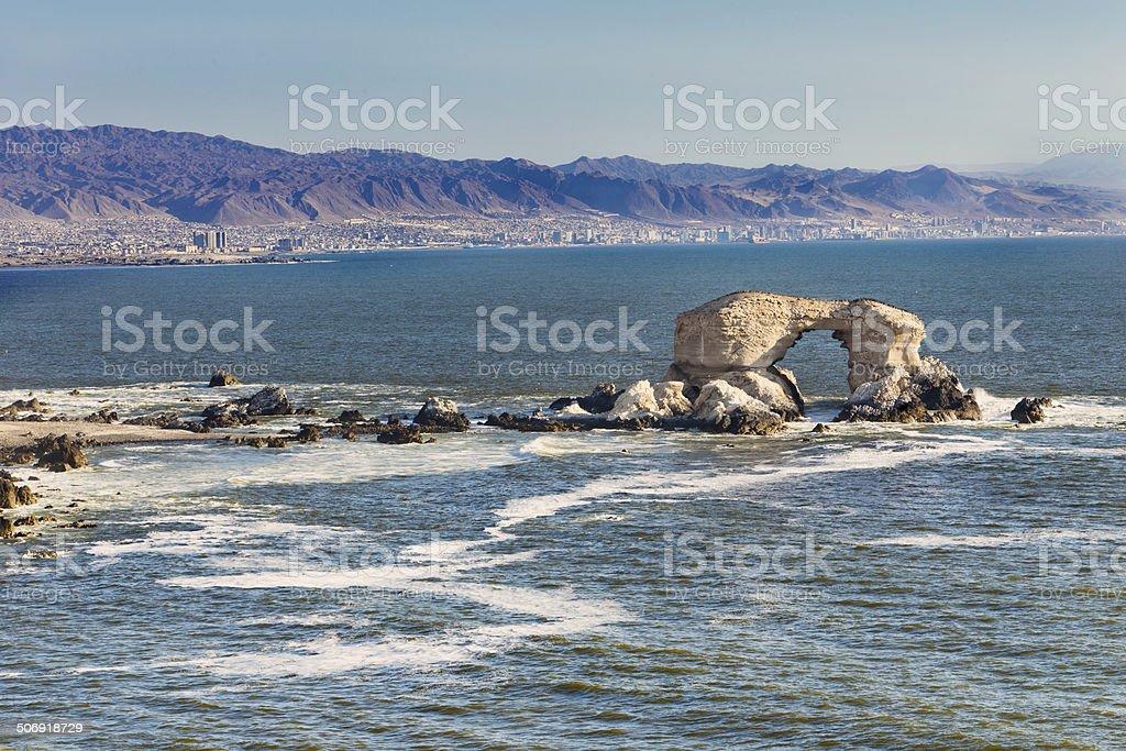 Portada de Antofagasta stock photo
