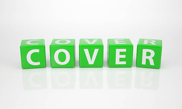 Cover aus grünen Buchstabe Dices – Foto