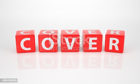 838254520 istock photo Cover out of red Letter Dices 499466809