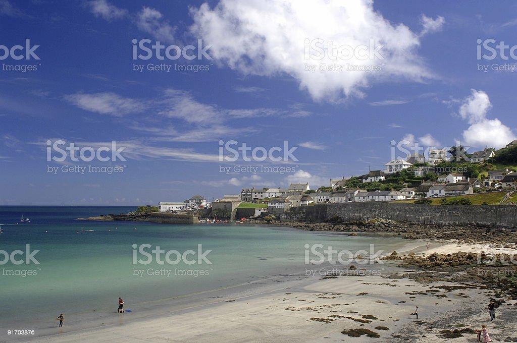 Coverack, Cornwall stock photo