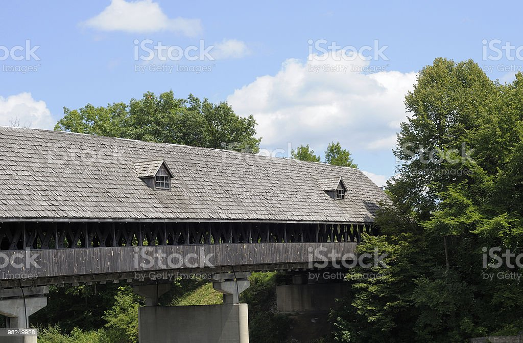 Covered Bridge, Frankenmuth Michigan royalty-free stock photo