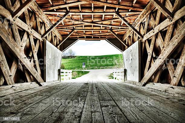 Covered Bridge of Madison County Iowa