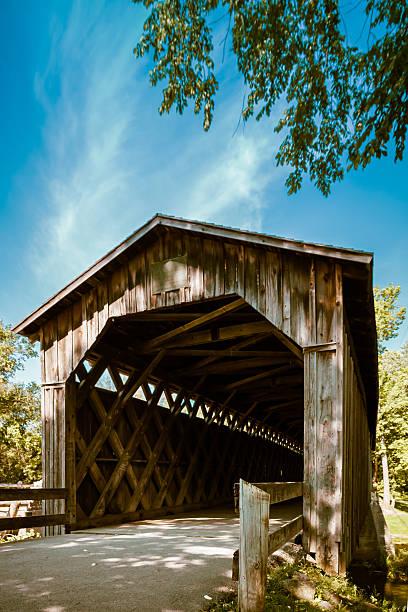 Covered Bridge stock photo