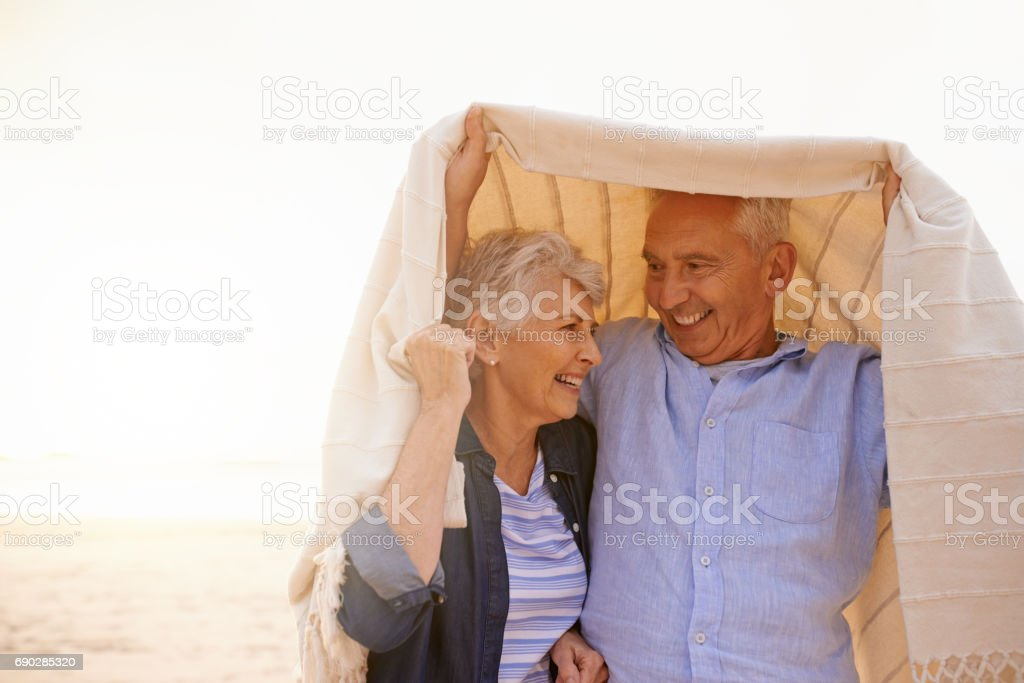 Covered for life stock photo
