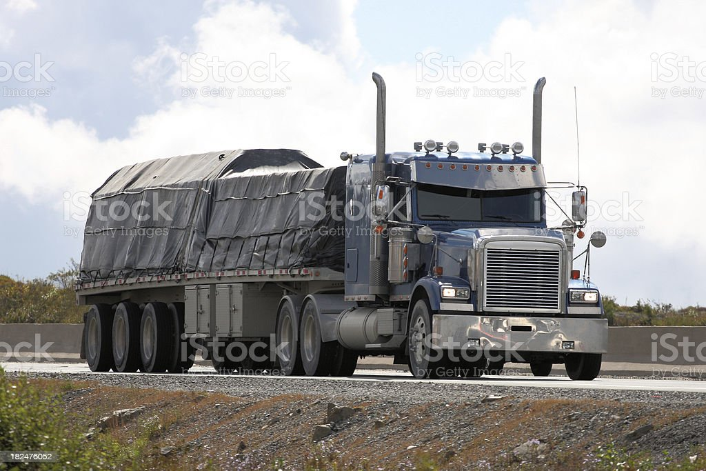 Covered Load stock photo