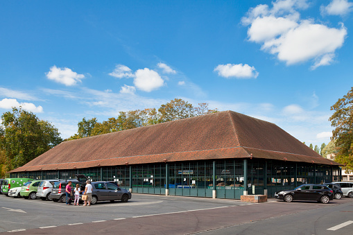 Covered Market In Lisleadam Stock Photo - Download Image Now