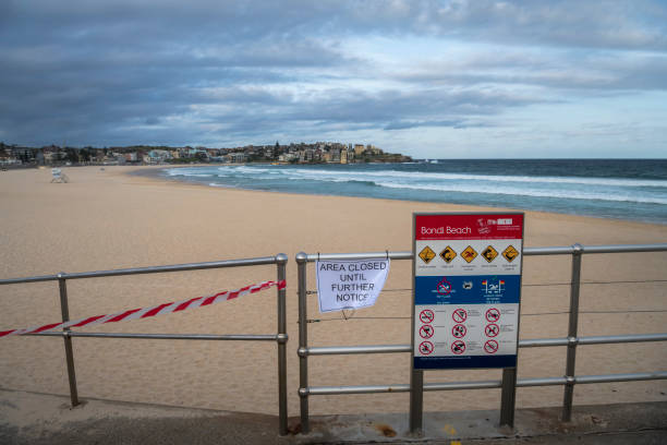 Covid 19 - Closed Bondi Beach