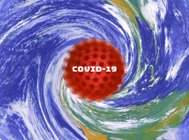 Covid-19 Pandemic Worldwide stock photo