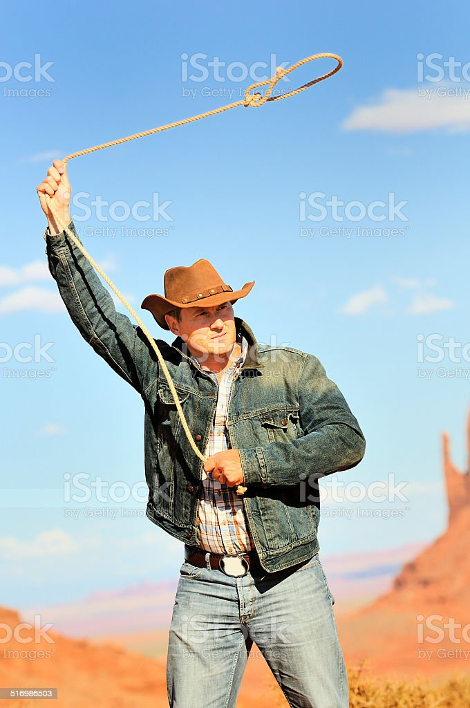 cow boy spirit stock photo