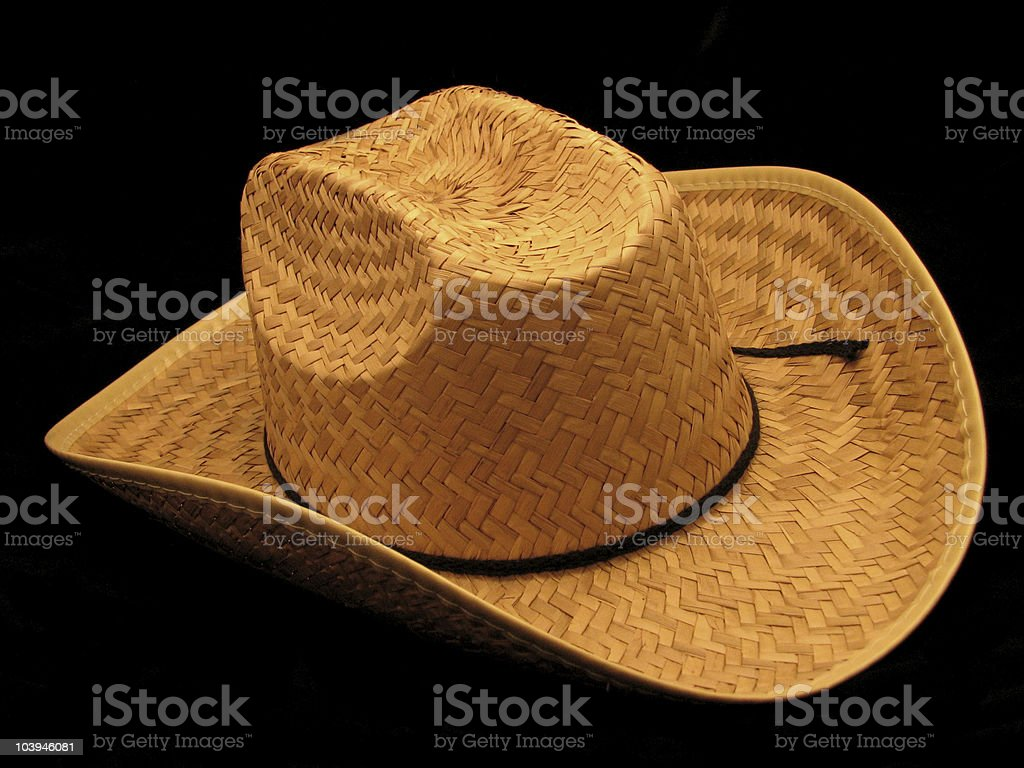Cowbot Hat royalty-free stock photo