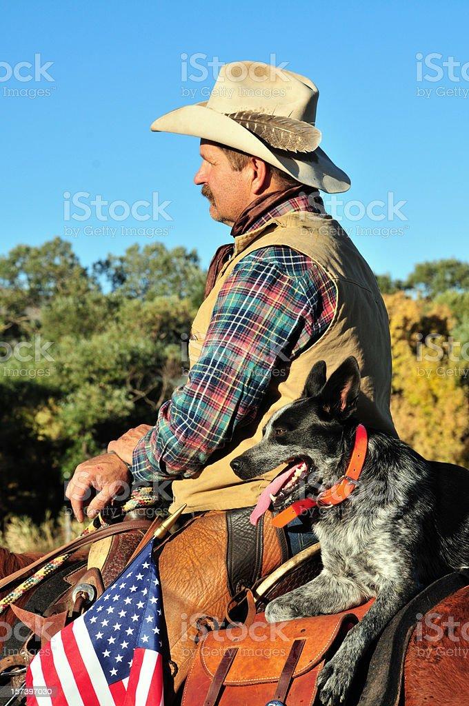 Kowboj i jego partnera – zdjęcie