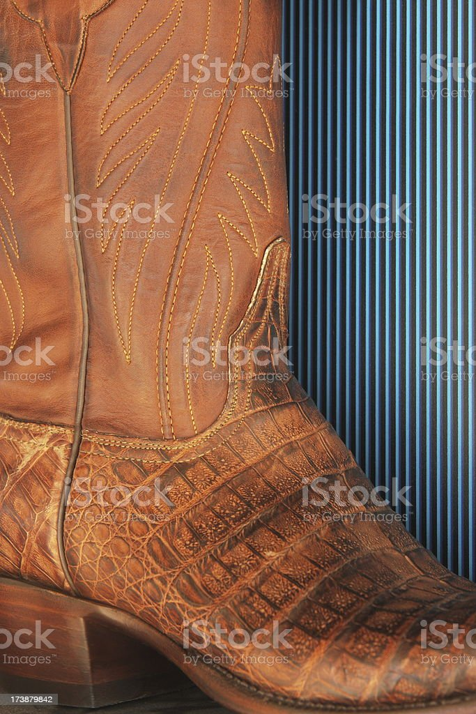 Cowboy Boot Leather Footwear royalty-free stock photo