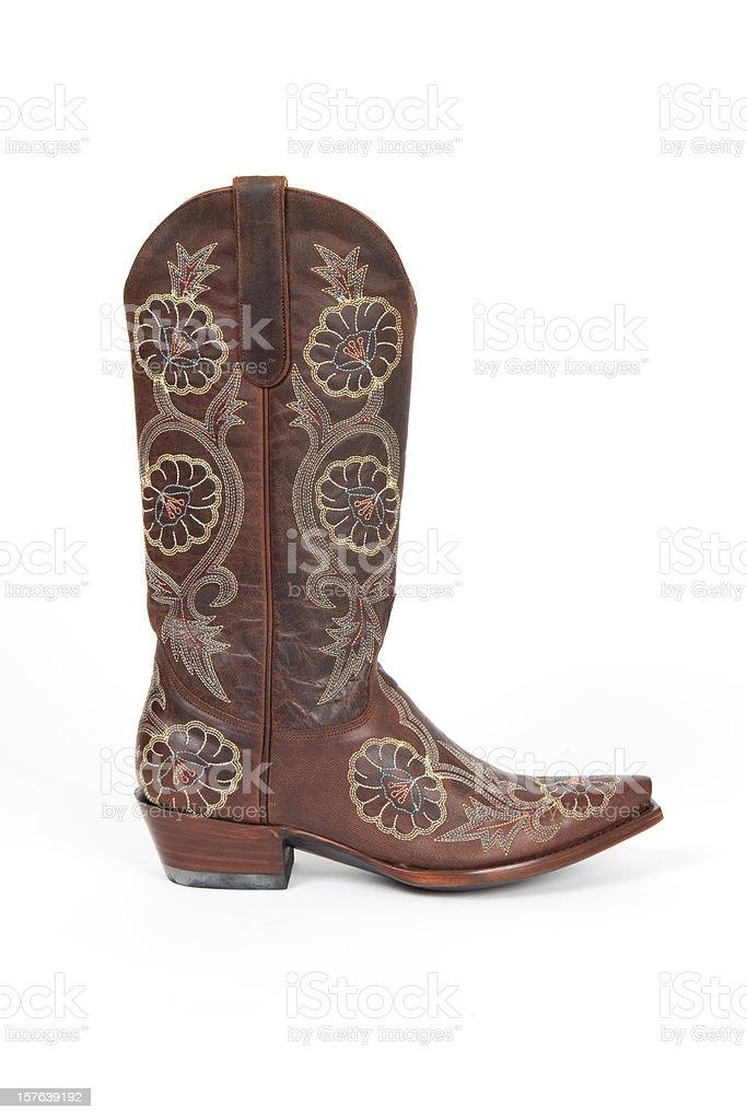 Cowboy Boot (XXXL) stock photo