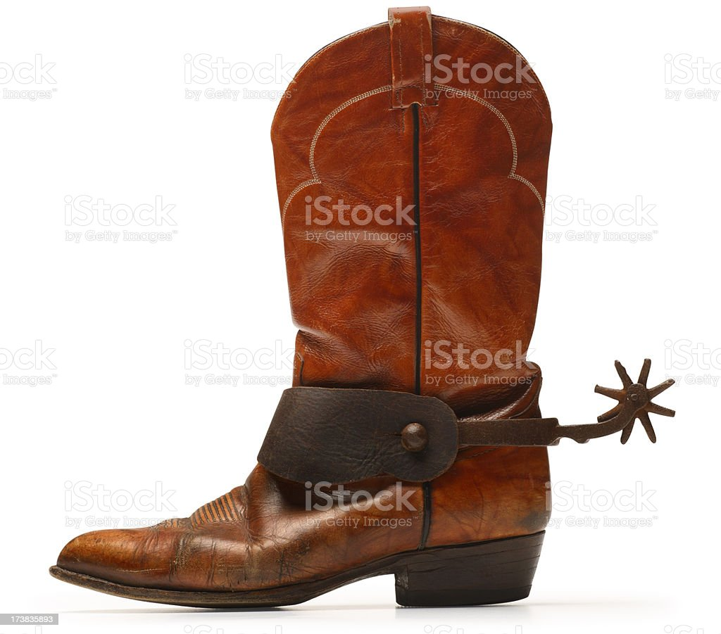 Cowboy Boot Spurs Stock Photo More Pictures Of Boot Istock