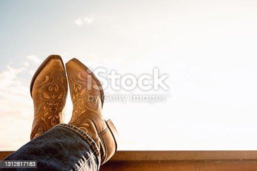 istock cowboy boots 1312817183