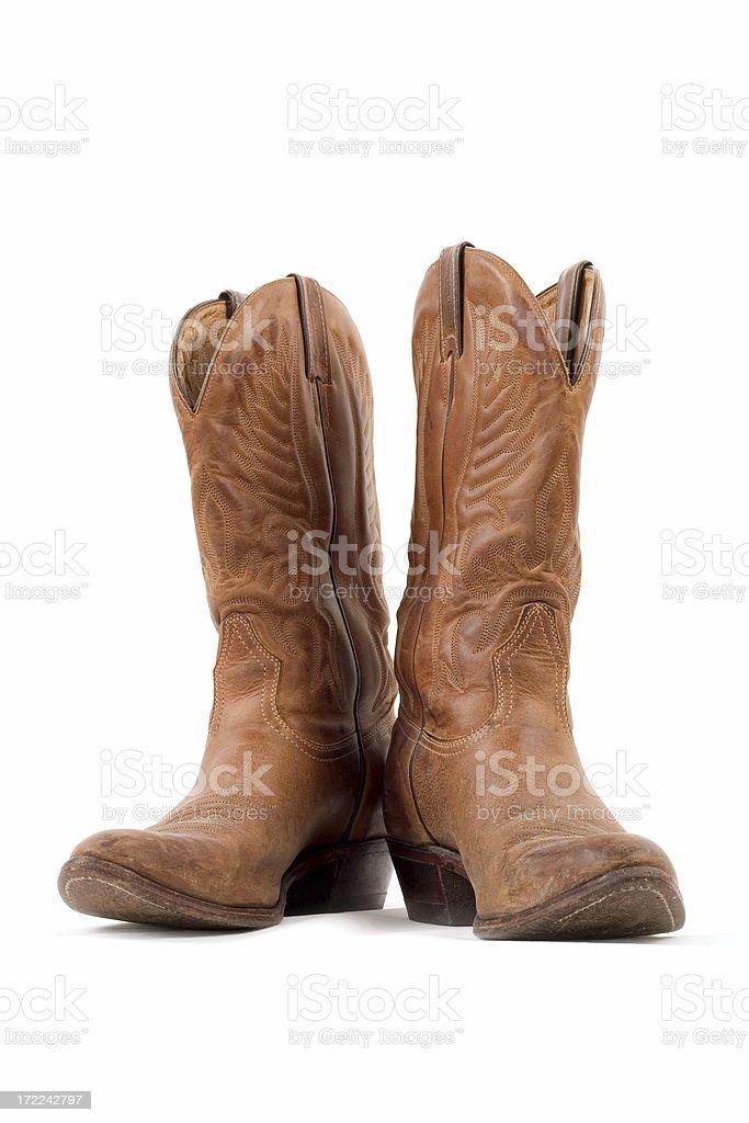 Cowboy Boots royalty-free stock photo