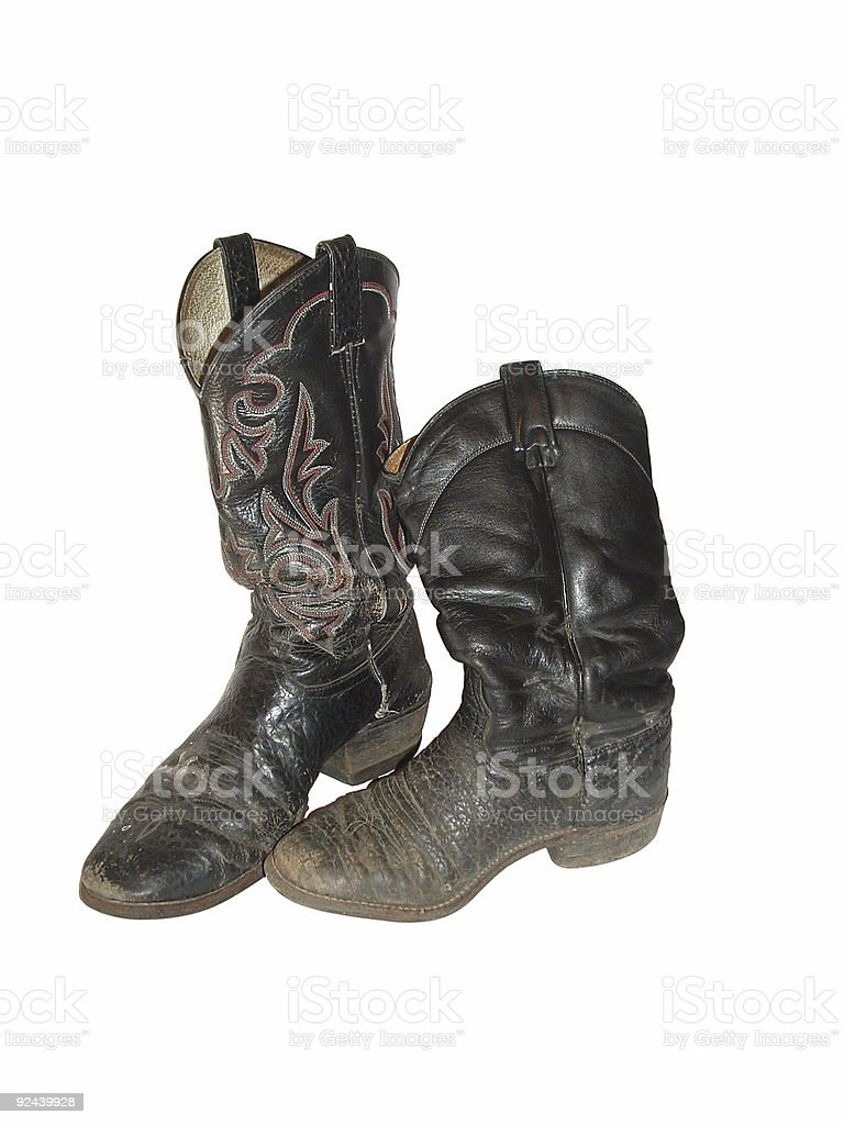 Cowboy Boots (men's & women's) royalty-free stock photo
