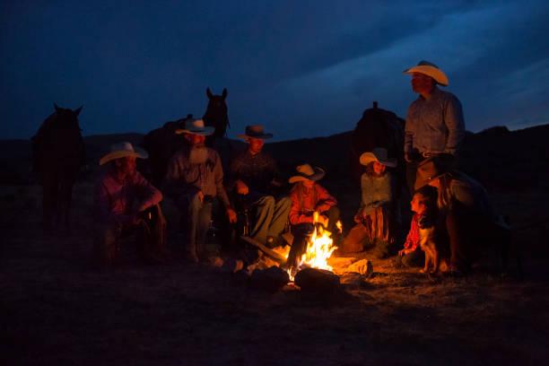 Cowboy Lagerfeuer – Foto