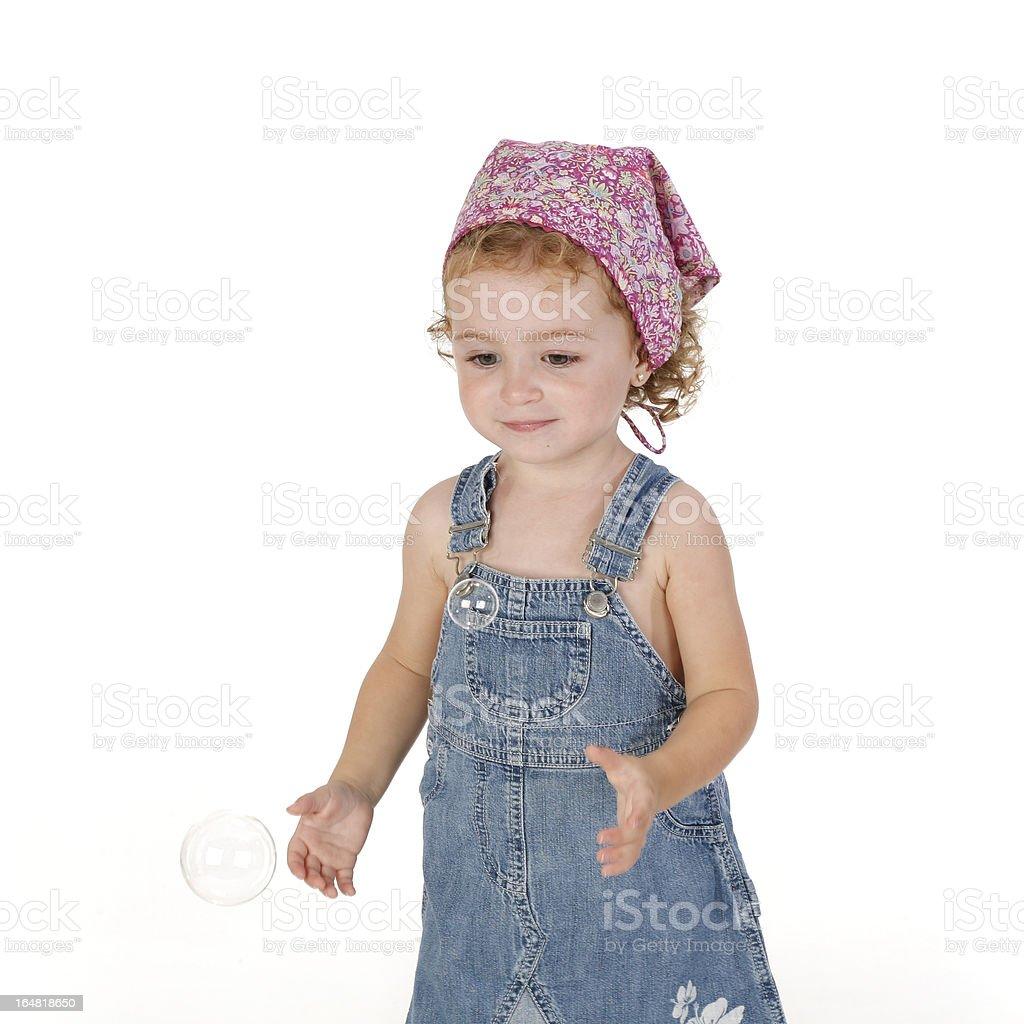 cowboy dress girl stock photo