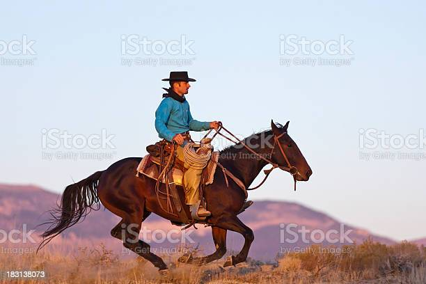 Cowboy gallops by as horse is completely off the ground picture id183138073?b=1&k=6&m=183138073&s=612x612&h=xogdadujy9n4l prbqpzzmythx4ibncpbmvay wlifu=