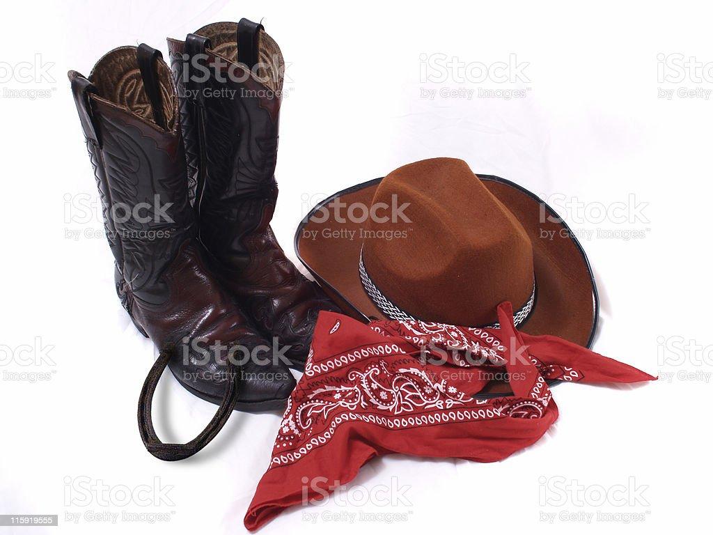 Attrezzatura da Cowboy - foto stock