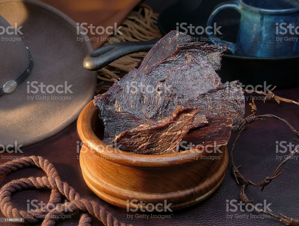 Cowboy Grub royalty-free stock photo