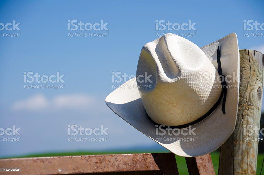 Sombrero de vaquero - foto de stock