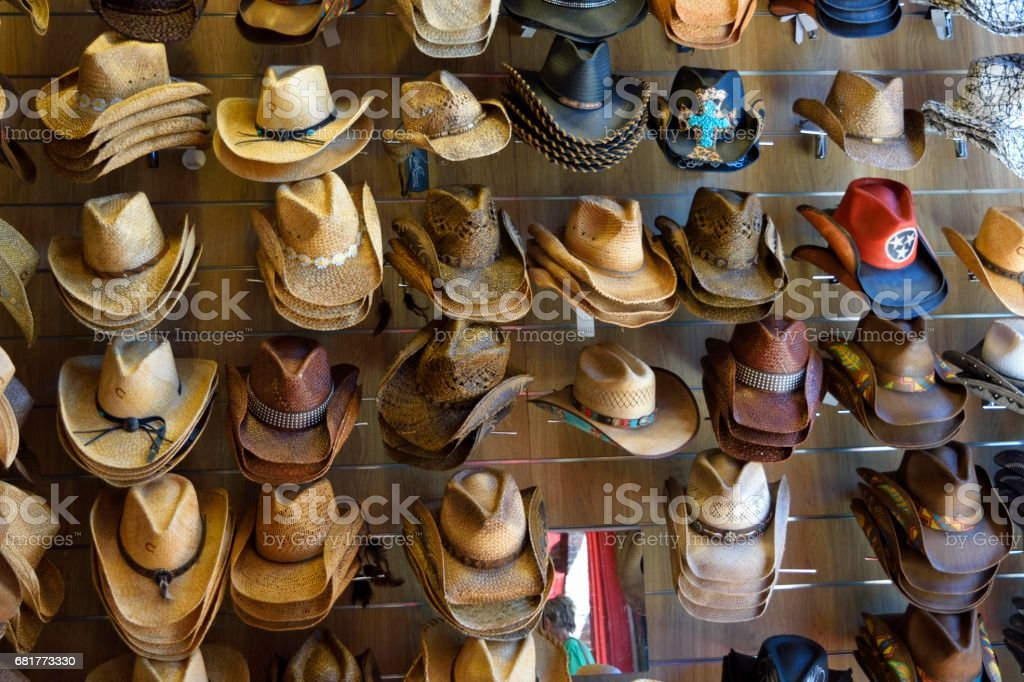 Cowboy Hats For All stock photo