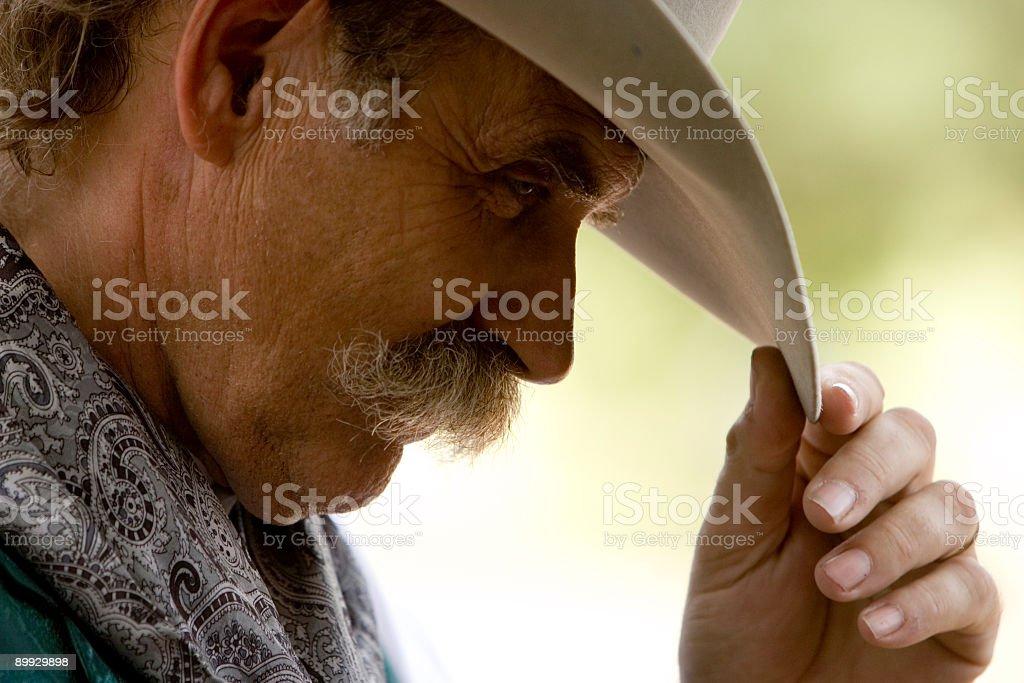 Cowboy Hello - Austin iStocklypse royalty-free stock photo