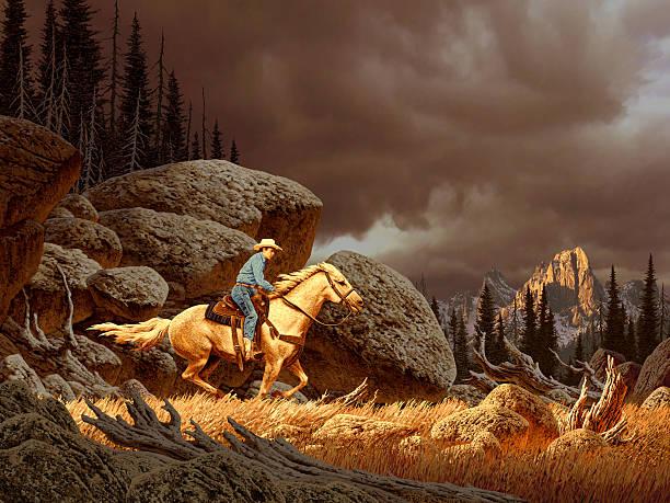 Cowboy in storm picture id139704968?b=1&k=6&m=139704968&s=612x612&w=0&h=3yudtuaagqpgexof5kl3w0qumkuzppqc4pzum4bpoj8=