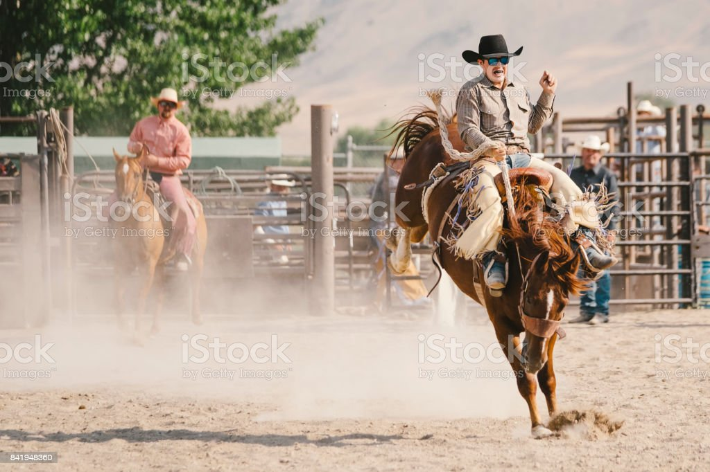 Cowboy Lifestyle in Utah stock photo