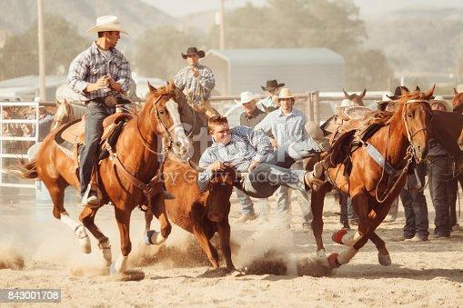 istock Cowboy Lifestyle in Utah 843001708