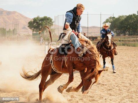 istock Cowboy Lifestyle in Utah 845376276