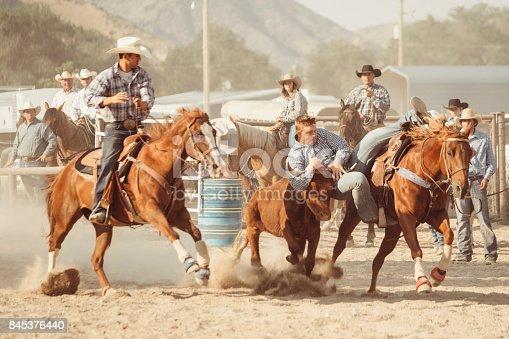 istock Cowboy Lifestyle in Utah 845376440