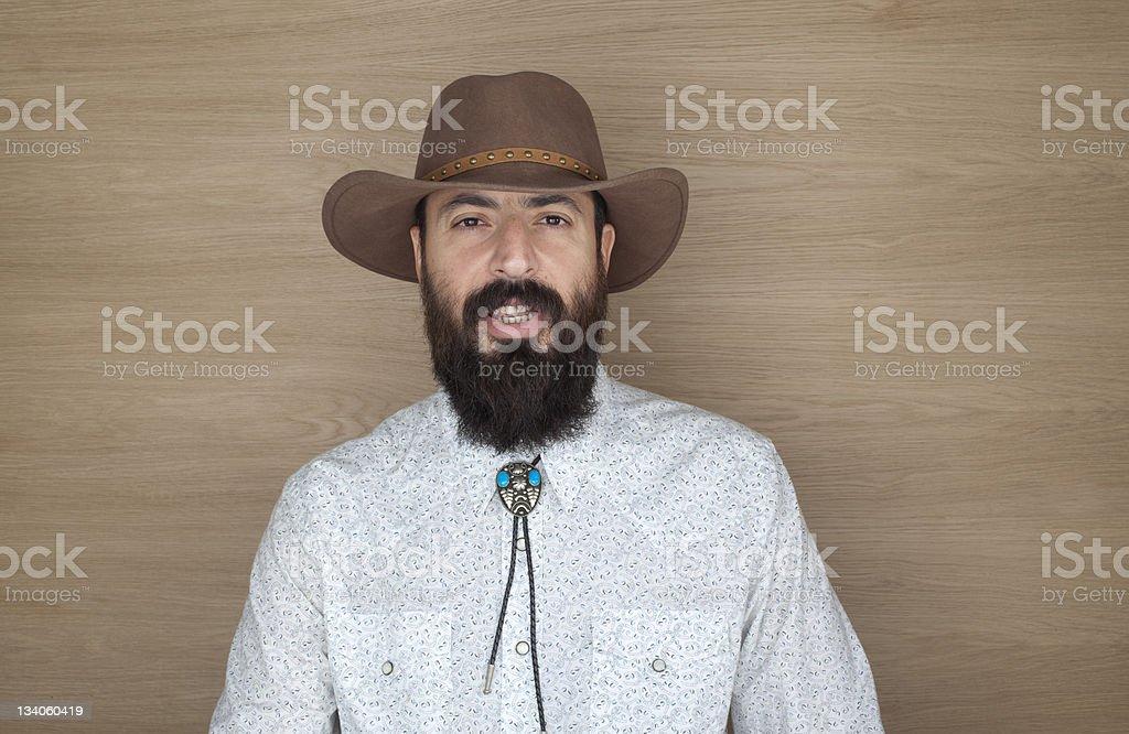 Cowboy Cowboy Adult Stock Photo